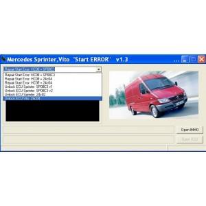 Mercedes Start Error 1.3
