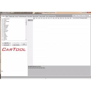 CARTOOL  V 3.6  IMMOBILIZER - AIRBAG - RADIO - SOFTWARE  IMMO  OFF  ECU  BSI  IMMO  KILLER